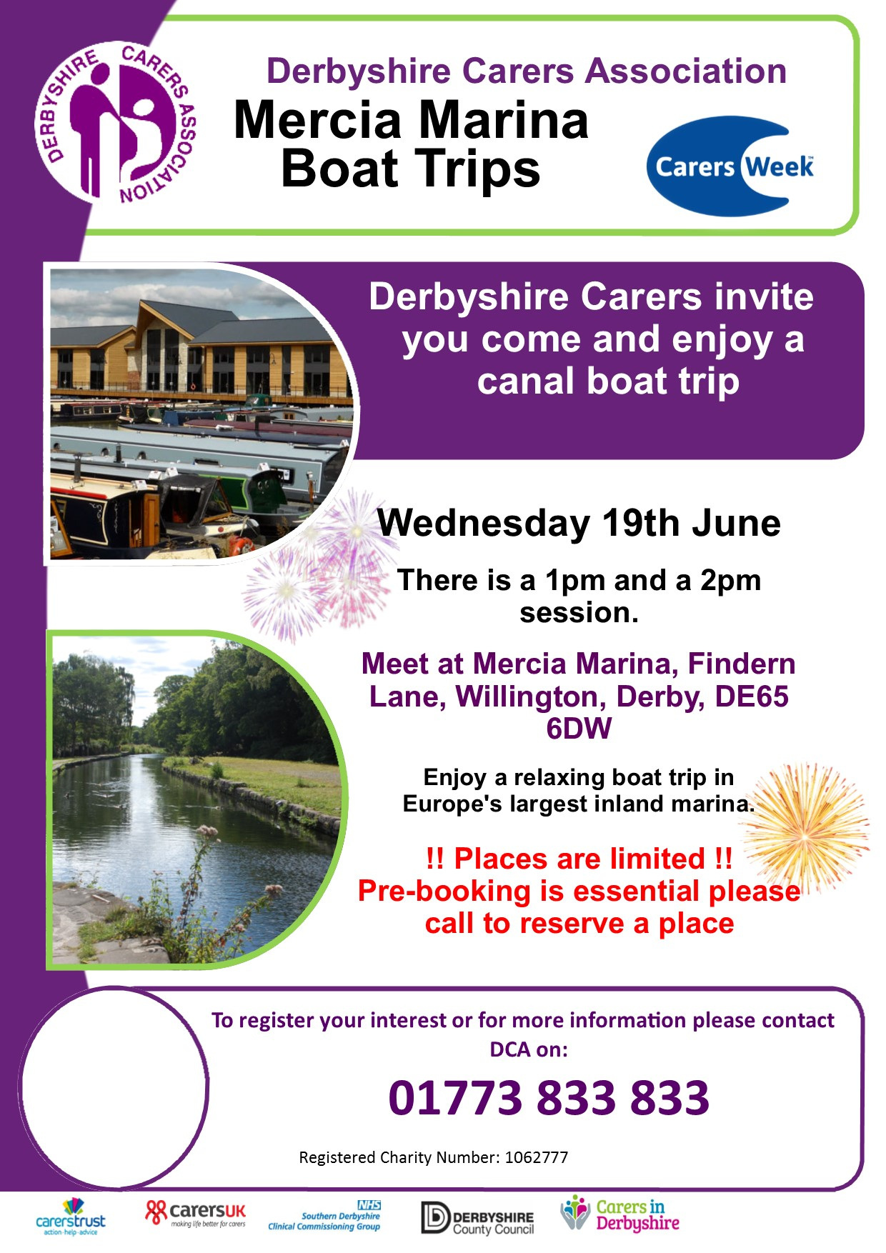 Carers week Mercia boat trip 2019
